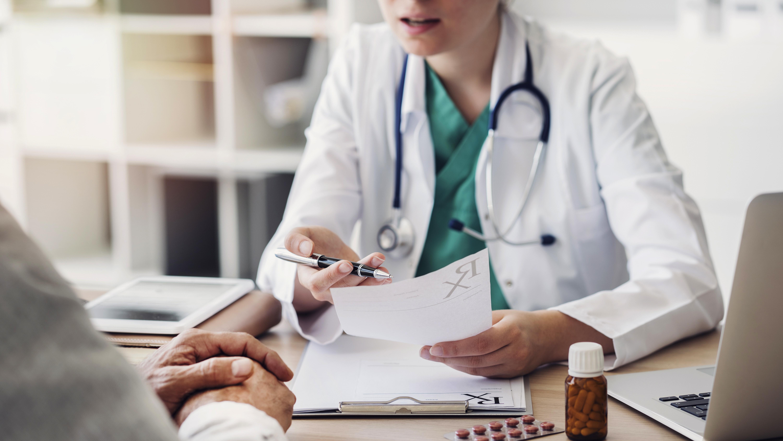 Hausarzt Praxis Frechen Königsdorf - Patientengespräch