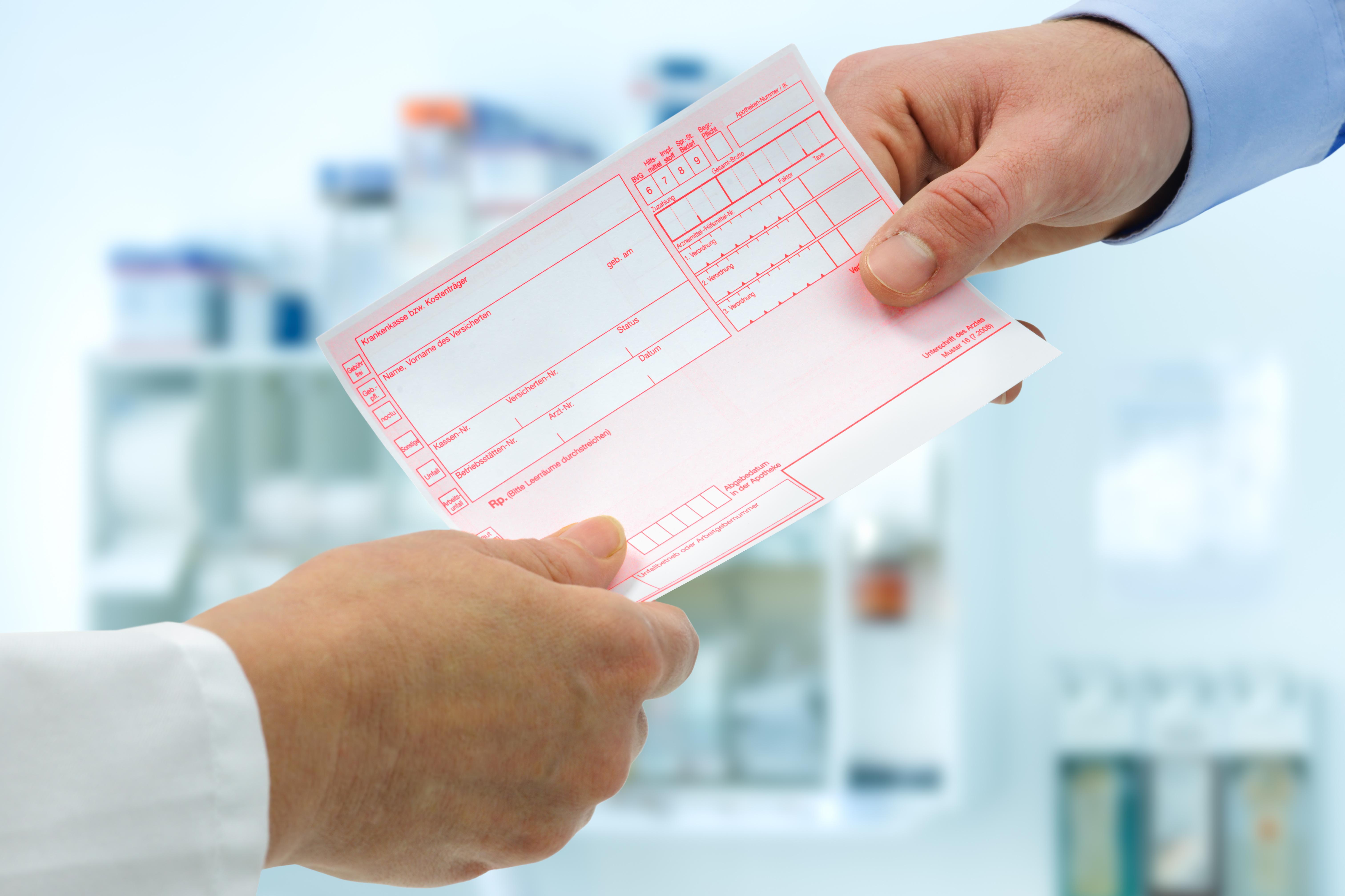 Hausarzt Praxis Frechen Königsdorf - Rezeptausstellung